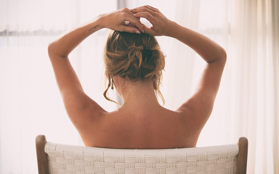 How To Get Rid Of Those Goose Bumps On The Back Of Your Arms