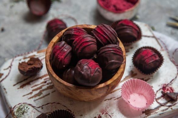 3 Ingredient Chocolate Truffles recipe