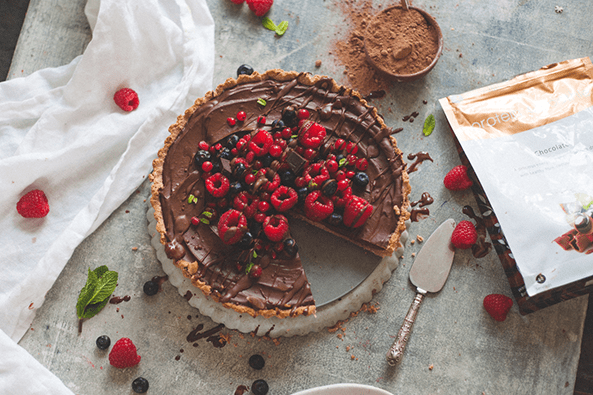 Chocolate Avocado Tart recipe