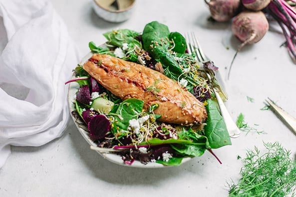 Mackerel Salad recipe
