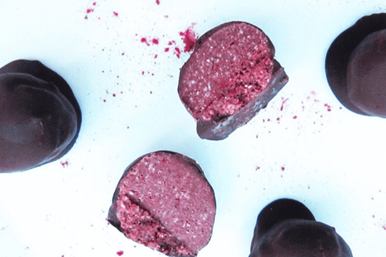 Red Velvet Protein Truffles recipe