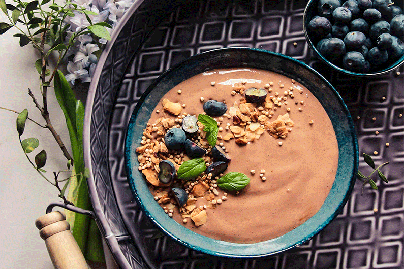 Rejuvenated Chocolate Protein Smoothie recipe
