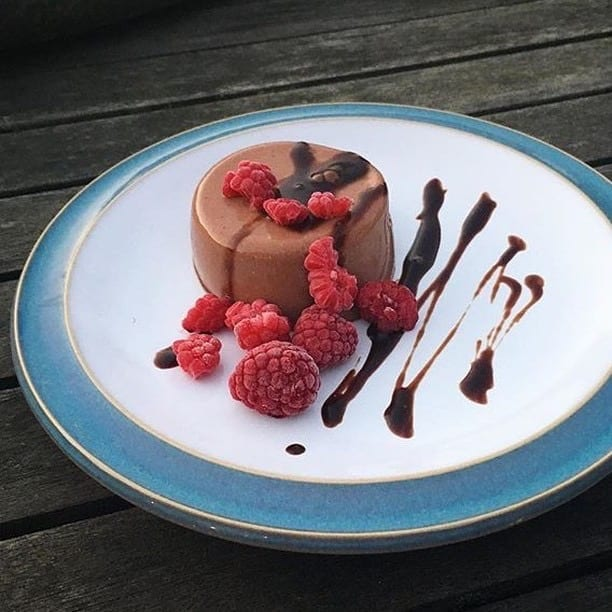Chocolate Protein Panacotta recipe