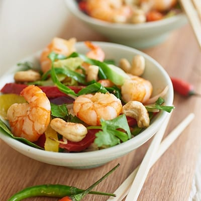 Prawn and Cashew Stirfry