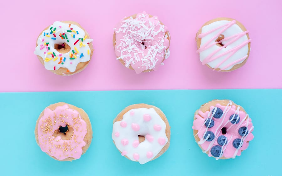 Rejuvenated do you need to eat that decorated doughnuts