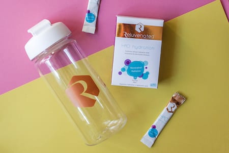 H3O Hydration with Rejuvenated Shaker