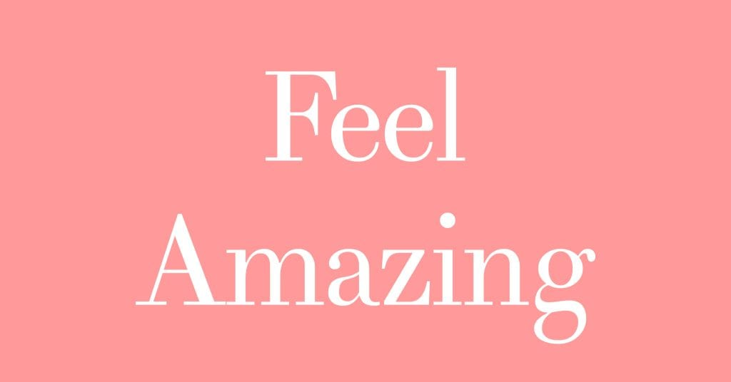 How to be more youthful and hove more vitality - Feel Amazing - Pink
