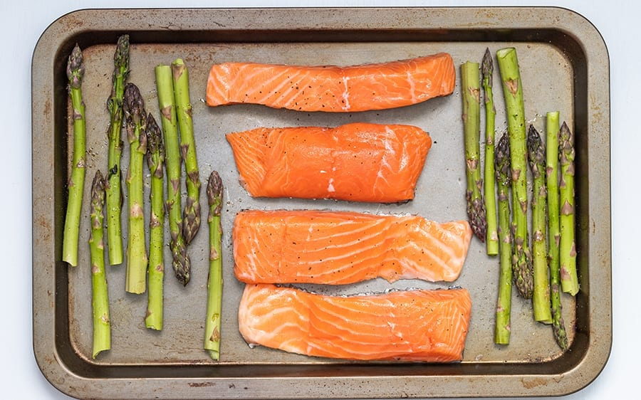 Salmon Is protein the secret to health and vitality