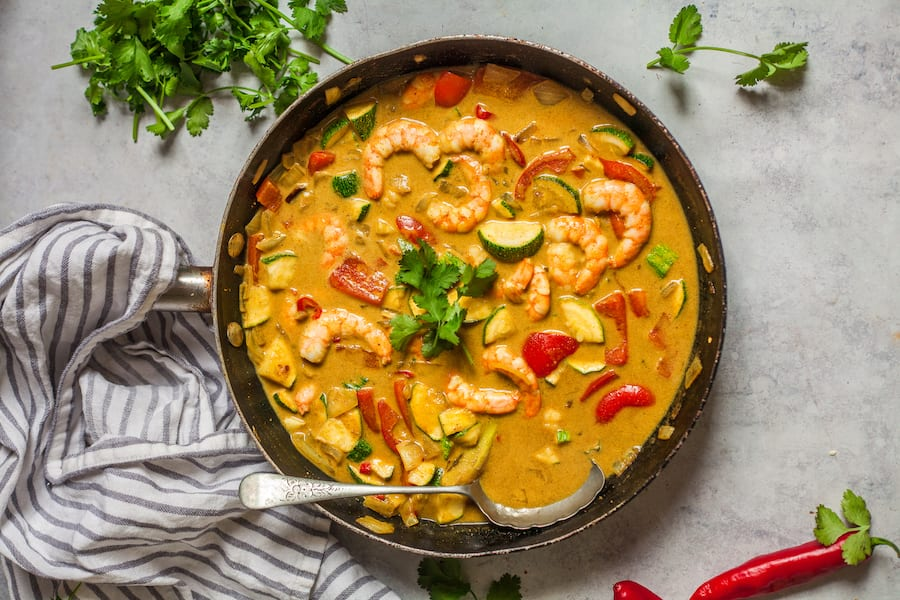 Prawn Lemongrass Curry