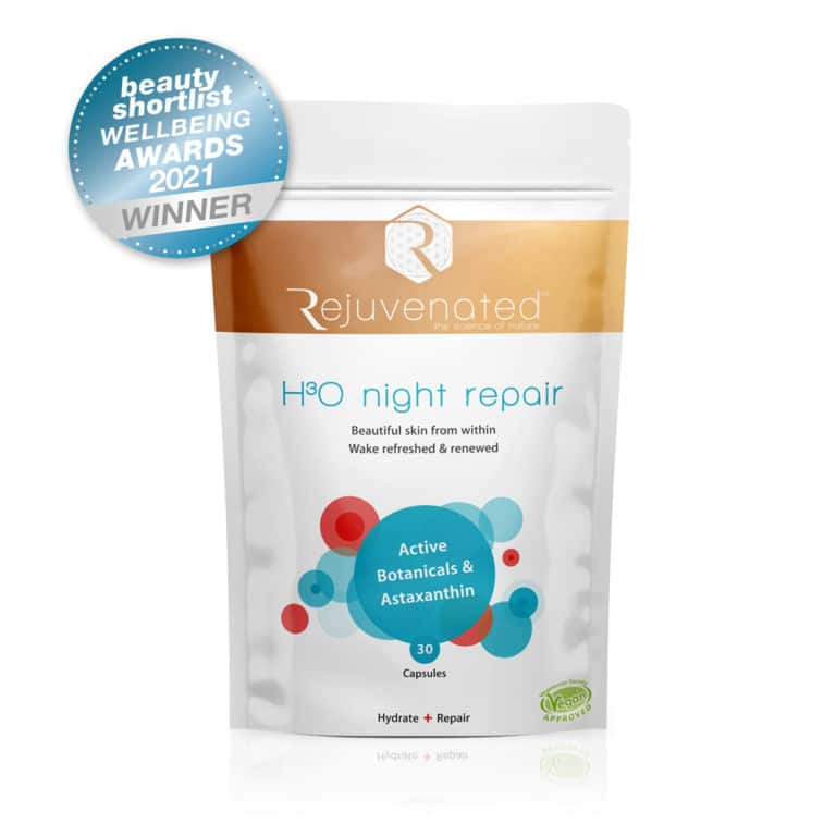 H3O Night Repair Beauty Shortlist Winner 2021