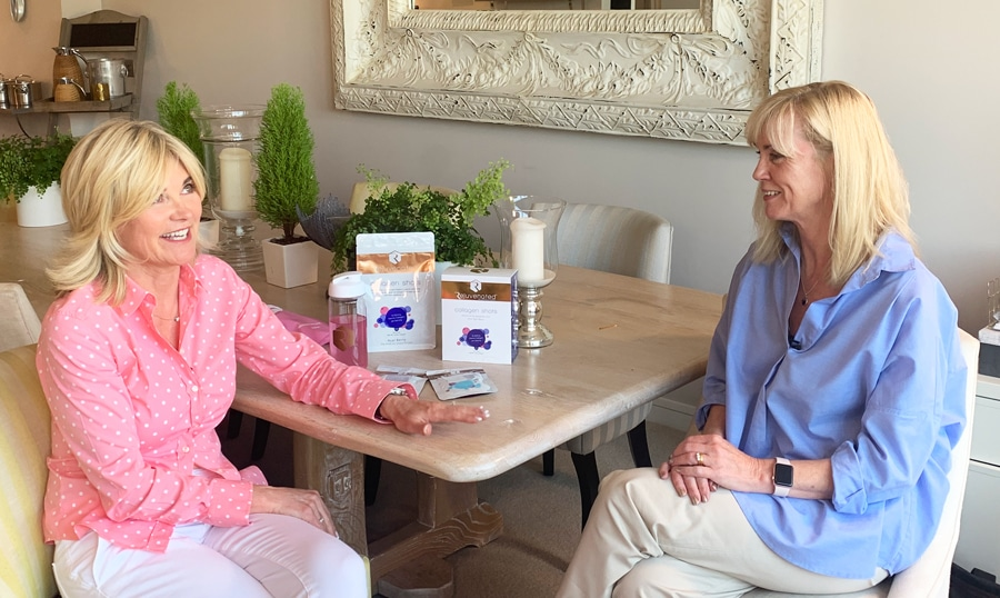 Anthea Turn taling about Rejuvenated Collagen Shots
