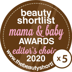 Beauty Shortlist mama and baby 2020 5 times editers choice