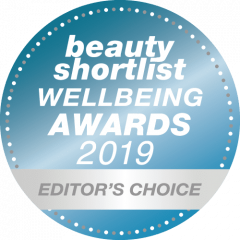 Beauty Shortlist Wellbeing awards 2019 editors choice