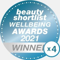 Beauty Shortlist winners 2021 x 4