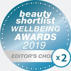 Beauty Shortlist 2 times editers choice