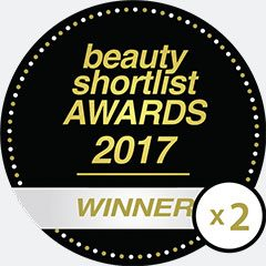 Beauty Shortlist Wellbeing awards 2 times 2017 winner